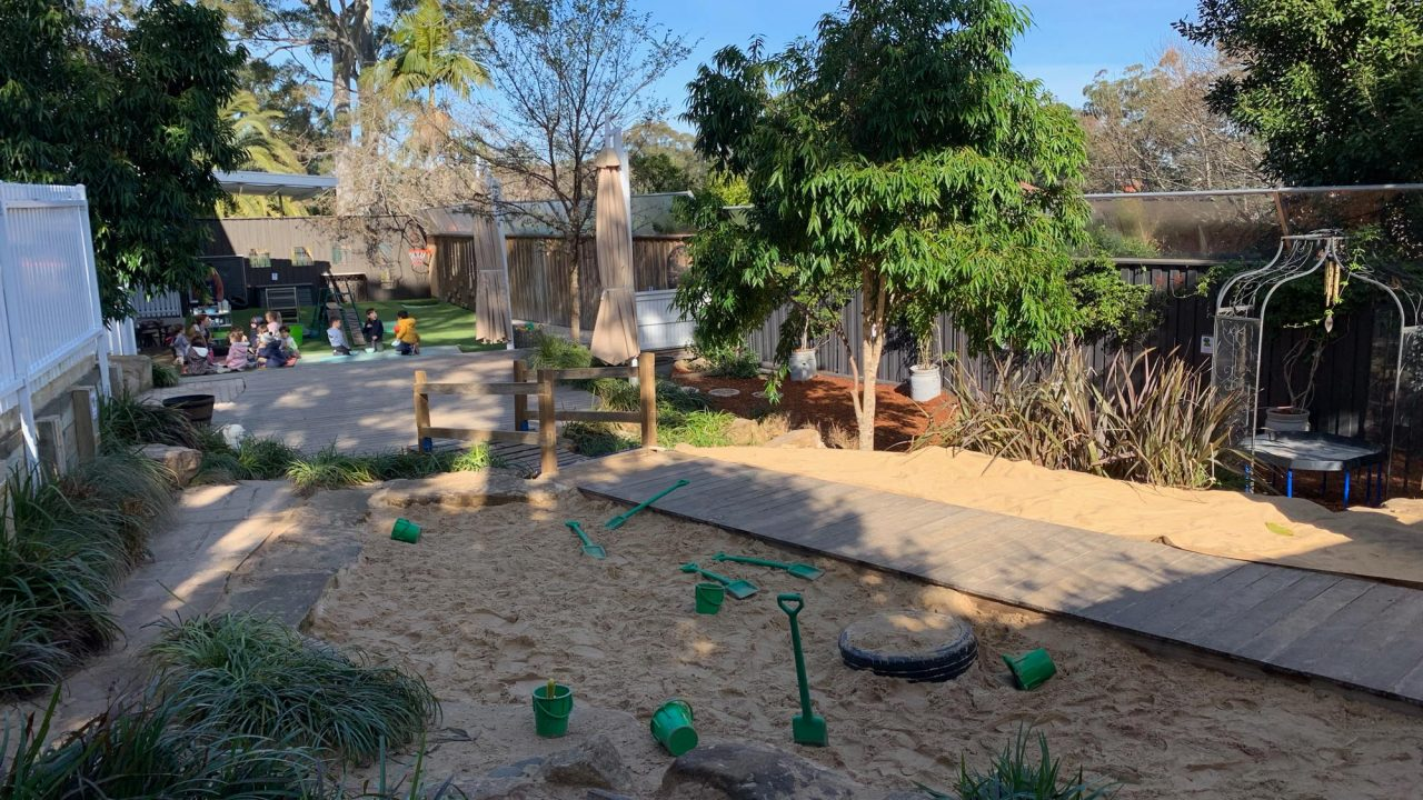 Landscaping example for kids
