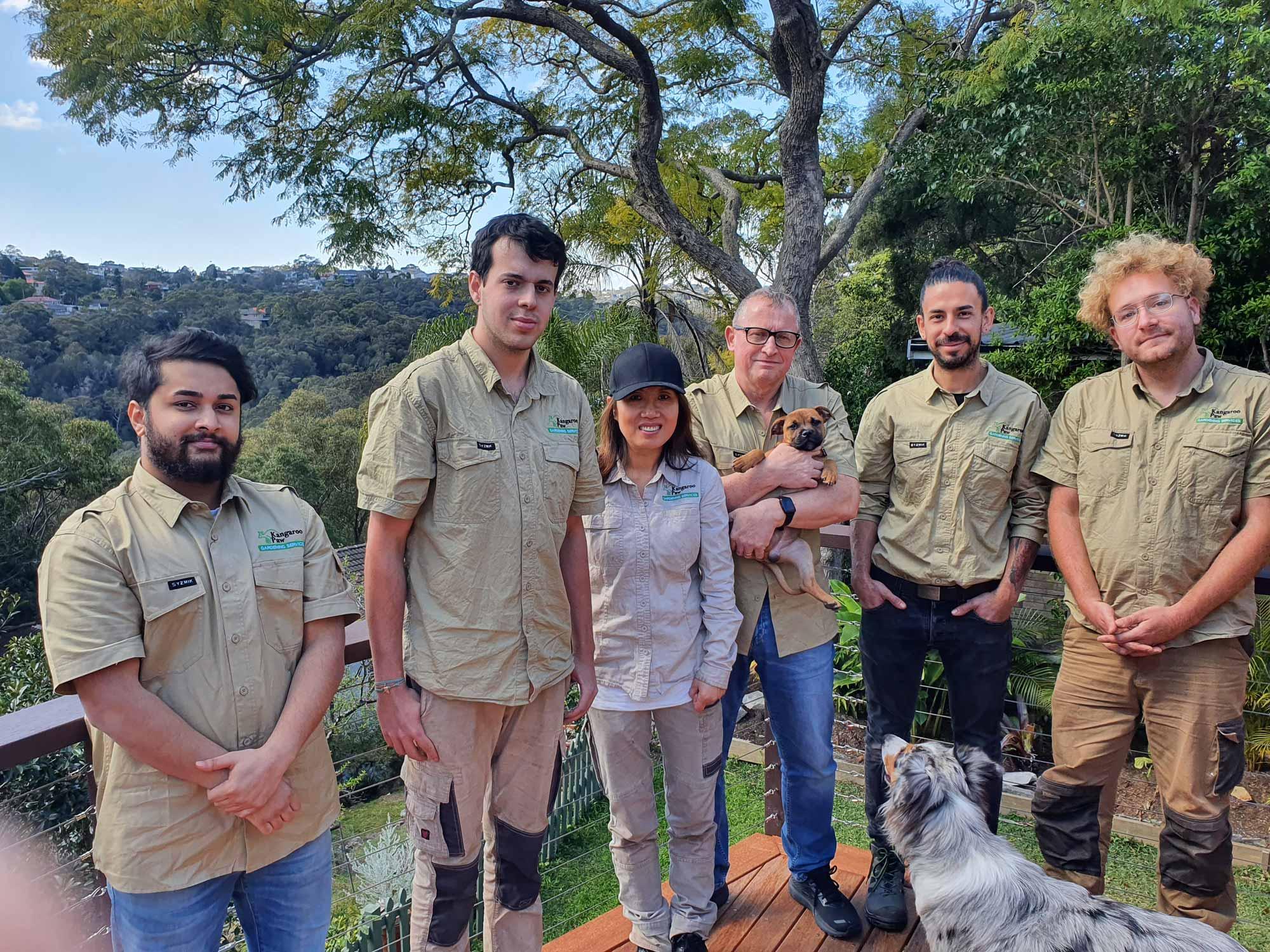 Kangaroo Paw Gardening Services team photo